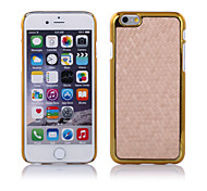New Football Lines Metal Leather Skin Case Cover For Apple iphone 6/6S (Assorted Colors)