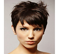 Cheapest Price Natural Color Short  Syntheic  Wig