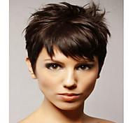 preço mais barato cor natural peruca curta syntheic