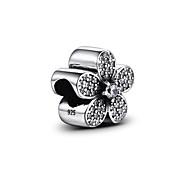 pand con s925 grano del grano collar pulsera de plata esterlina para las pulseras de plata del encanto europeo