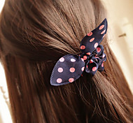 Candy Girl Sweet Style Chiffon  Rabbit Shape Hair Ties Kid's Hair Jewelry (Random Color)