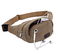 Men's Casual Canvas Sports Bag Chest Man Bag