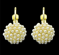 New Coming Imitation Pearl Clip On Earrings