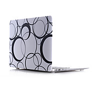 Circle Style PC Materials Water Stick Flat Shell For MacBook