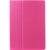 Ultra-thin Solid Color PU Leather 360 Rotation Case for iPad Pro