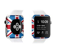 For Apple Watch iWatch 38mm Colorful Screen Protector 42mm Front and Back Screen Protector