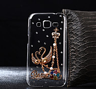 DIY Love Swan Pattern PC Hard Case for Multiple Samsung Galaxy S3/S4/S5/S6/S6Edge/S6EdgePlus/S7