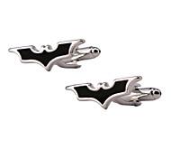 Jewelry Brass Material, Bat Wings Shape Cufflinks