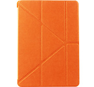 Classic Solid Color Origami Case for iPad Air