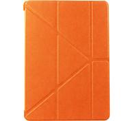 caso cor origami sólida clássico para o ar ipad