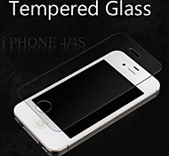 anti-verbrijzelen anti shock 2.5d 9h 0.33mm explosieveilige gehard glas screen protector voor iPhone 4 / 4s