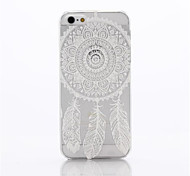 Wind Chimes Pattern Plastic Hard Cover for iPhone 5/5S