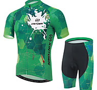 XINTOWN Ultraviolet Resistant Cycling Bike Short Sleeve Clothing Set Bicycle Suit Jersey + Shorts
