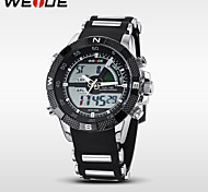 WEIDE® Luxury Brand Military LCD Luminous Analog Digital Date Week Alarm Display Sport Watch