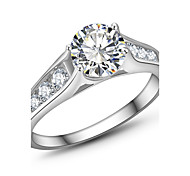 Size5/6/7/8/9/10 Jewelry White Sapphire Lady's 10KT White Gold Filled Wedding Rings Jewelry Rings White Rings