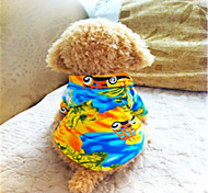 Hunde T-shirt / Shirt Gelb Sommer Urlaub Modisch