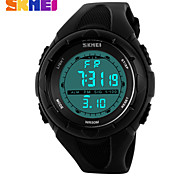Fashionable Outdoor Sports Big Dial Men's Creative Personality Waterproof Watch Cool Watch Unique Watch