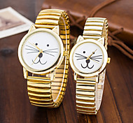 Xu™ Women's Stretch Belt Cat Lovers Quartz Watch(A Pair)