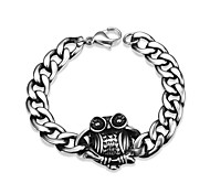 Owl Personality Retro Men's Stainless Steel Bracelet