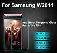 Explosion Proof Premium Tempered Glass Film Screen Protective Guard 0.3 mm Toughened Membrane Arc For Samsung W2014