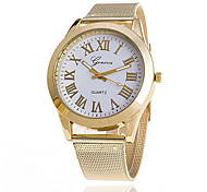 Women's Fashion Stainless Steel Band Quartz Anolog Wrist Watch(Assorted Colors) Cool Watches Unique Watches