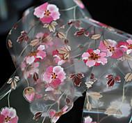 Цветы-Стразы для ногтей-Пальцы рук-4*100cm-1pcs-ПВХ