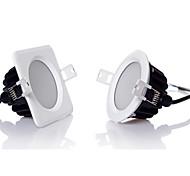 12W LED a incasso 24 SMD 5630 1100 lm Bianco caldo / Luce fredda Intensità regolabile AC 220-240 V 1 pezzo