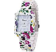 Xu™ Women's Flowers Square Quartz Watch Cool Watches Unique Watches