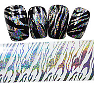 1PCS New 100x4cm 2016  Mixed Glitter Nail Foils  Decorations DIY  Nail Art Sticker STZXK50-55