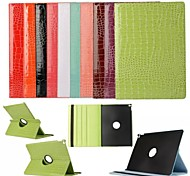 Mixed Color PU Leather Origami Stand Shockproof Case for Ipad Air 2