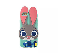 Judy The Rabbit 3D Cartoon Silicone Back Case for iPhone 6/6s
