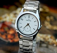 Men's Watch The New Trend Of Ultra Thin Explosive Style Steel Band Watch