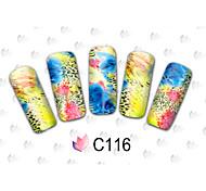 40PCS - Autocollants 3D pour ongles - Doigt / Orteil - en Bande dessinée / Adorable - 15cm x 10cm x 5cm (5.91in x 3.94in x 1.97in)