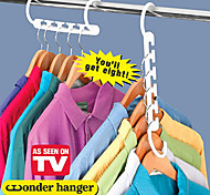 Space Saver Wonder Magic Hanger Racks Hook Closet Organizer Storage