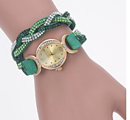 Women's Fashion Watch Criterium Color Cashmere Diamond Quartz Watches Korea