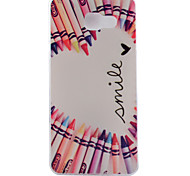 Crayon Pattern TPU Soft Phone Case for Samsung Galaxy A3 10(2016)/A5 10(2016)/A7 10(2016)