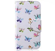 Multi Butterfly Pattern PU Leather Material Phone Case for Samsung Galaxy J1/J1ACE/J2/J3/J5/J7/G360/G530
