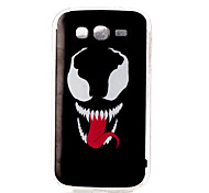Smiling teeth Pattern TPU Soft Case for Galaxy Grand Neo/Galaxy Grand Prime/Galaxy J1/Galaxy J5