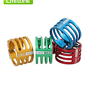 LIFETONE Bicycle Aluminum Seatpost Clamp MTB Equipment 6Color L329