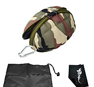 Mini Storage Bag/Portable Anti-Shock Case Bag For Gopro Hero Camera/Xiaoyi Camera-Camouflage Green