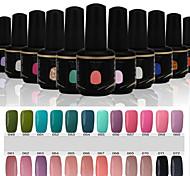 Newest Popular Top Fashion  Soak-off UV & LED Gel Polish (15ml,49-72 Colors)