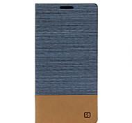 lignes de toile ouverte support de carte de holster gauche et à droite pour Samsung Galaxy s7 / s7edeg (couleurs assorties)