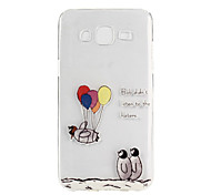 Penguin Balloon Pattern TPU Soft Case Phone Case for Samsung Galaxy J5/ GALAXY Core Prime