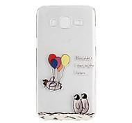 Penguin Balloon Pattern TPU Soft Case Phone Case for Samsung Galaxy J5/ GALAXY Core Prime