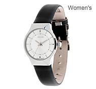 JULIUS Luxury Ultra-Thin Women Wrist Watch Casual Sport Leather Band Dress Watch JA-577