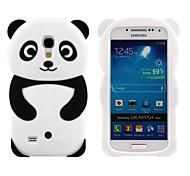 Для Кейс для  Samsung Galaxy С узором Кейс для Задняя крышка Кейс для 3D в мультяшном стиле Силикон Samsung S4 Mini / S3 Mini