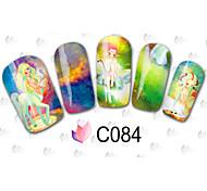 30sheets  Mixed Cartoon Water Transfer Sticker Nail Art Beautiful DIY C84-107
