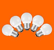Bombillas LED de Globo FSL G60 E26/E27 3W 5pcs SMD 3528 200 LM Blanco Cálido / Blanco Fresco AC 100-240 V 5 piezas