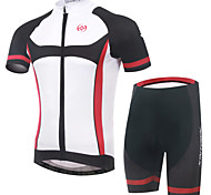 XINTOWN Breathable Quick Dry Cycling Bike Short Sleeve Clothing Set Bicycle Wear Jersey Shorts Suit
