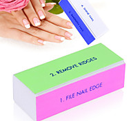 Nail Art Buffer File Block Pedicure Manicure Buffing Sanding Polish White Makeup Beauty Tools